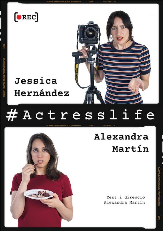 Cartel de Actress' Life