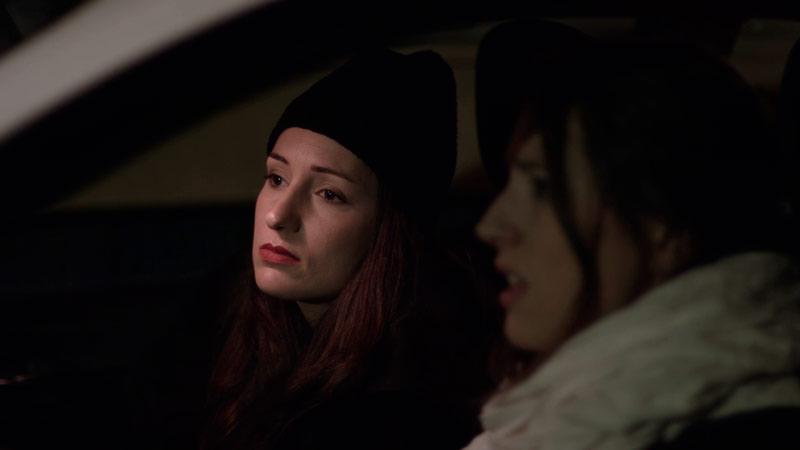 Frame del cortometraje Vicky, Laia, Badalona de Lucía Guijarro