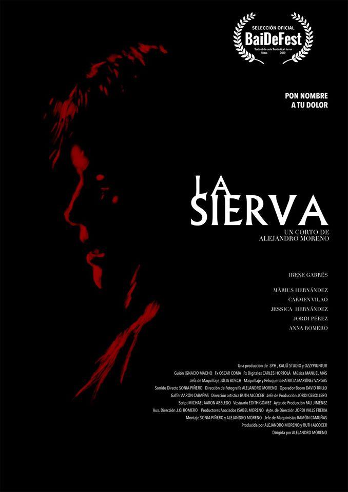 Cartel de La sierva