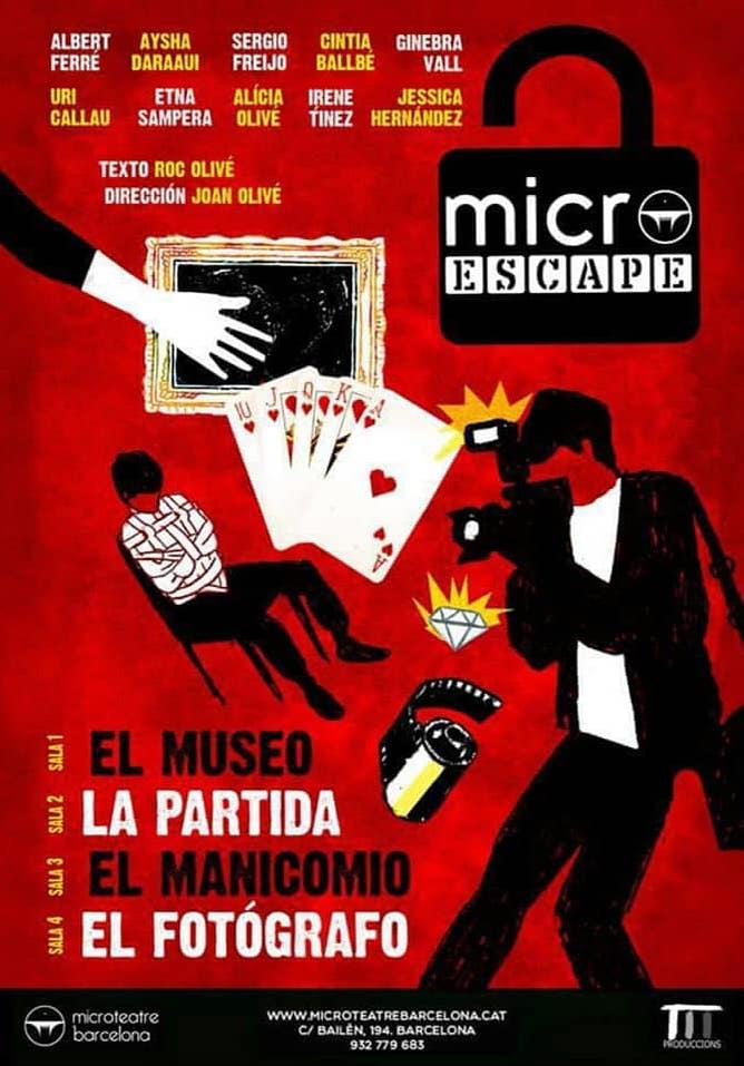 Cartel de Microteatre 3ª Edición